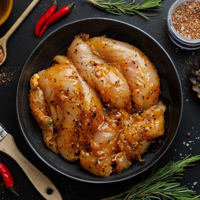 Φιλέτο Κοτόπουλο Στήθος Μαριναρισμένο